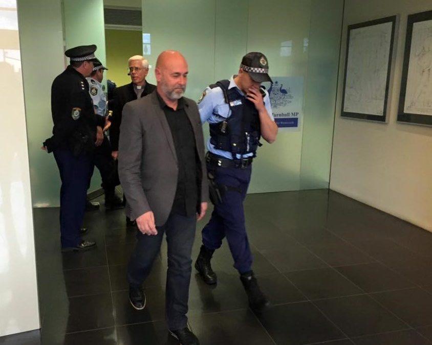 I got arrested recently