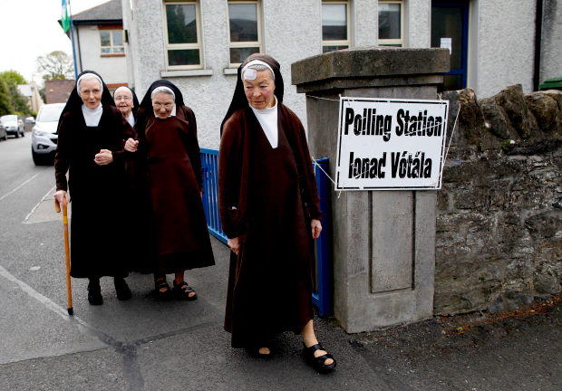 You do know the Irish same-sex marriage referendum got ugly, don't you?