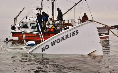 """The good ship """"No Worries"""" is sinking"""