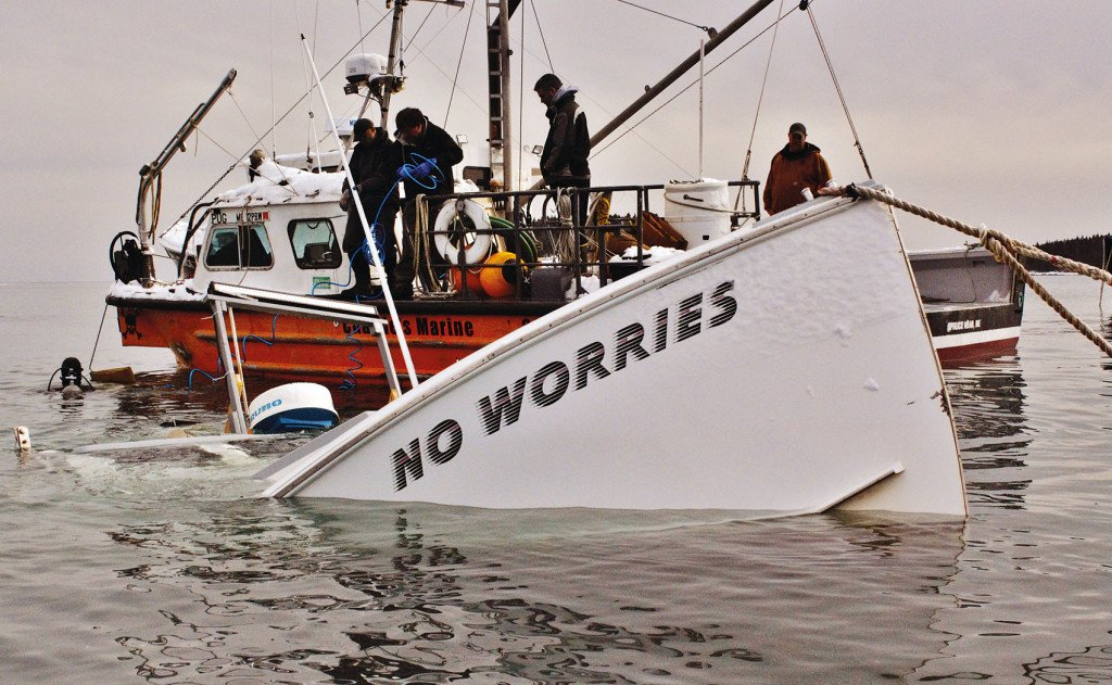 "The good ship ""No Worries"" is sinking"