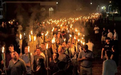 It's the white supremacists you can't see that you've gotta worry about