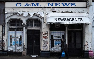 A Misplaced Habit: the slow death of the newsagent (and the church?)