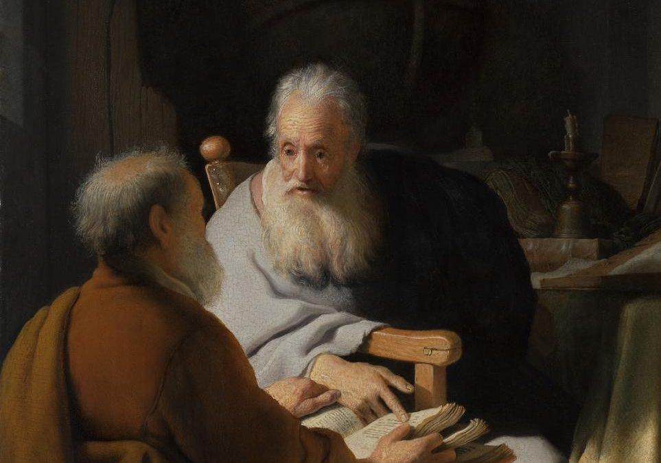 Two apostles walk into a bar…