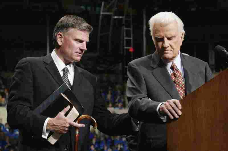 Franklin Graham is coming to town and he's already having the opposite effect of his father