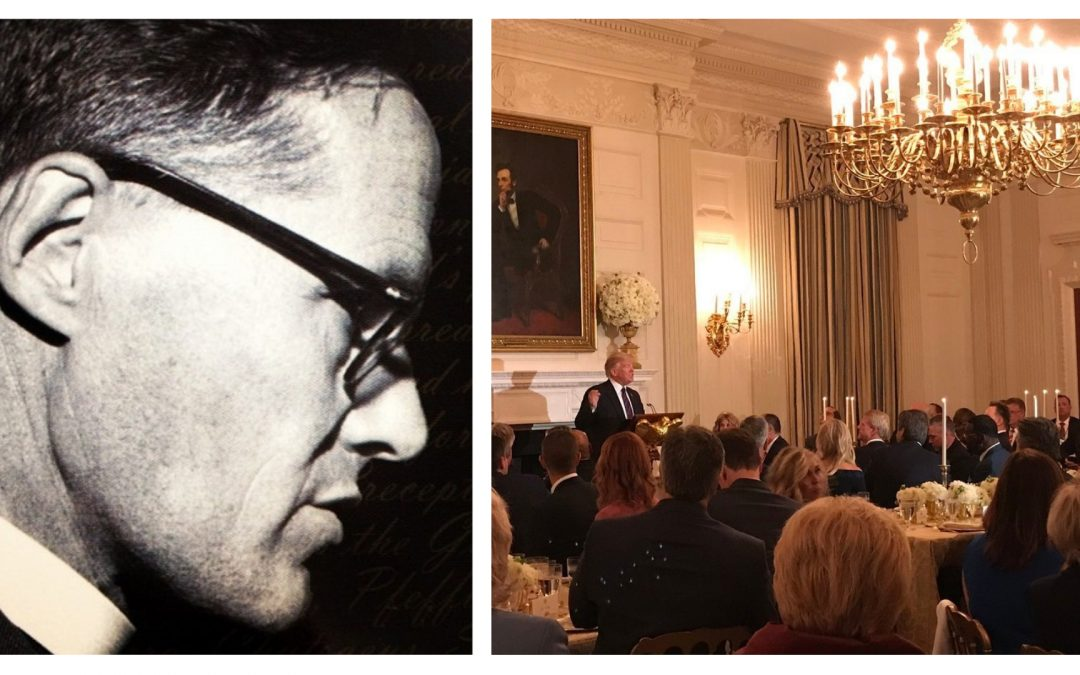 What would Newbigin have said if he'd been invited to that White House dinner?