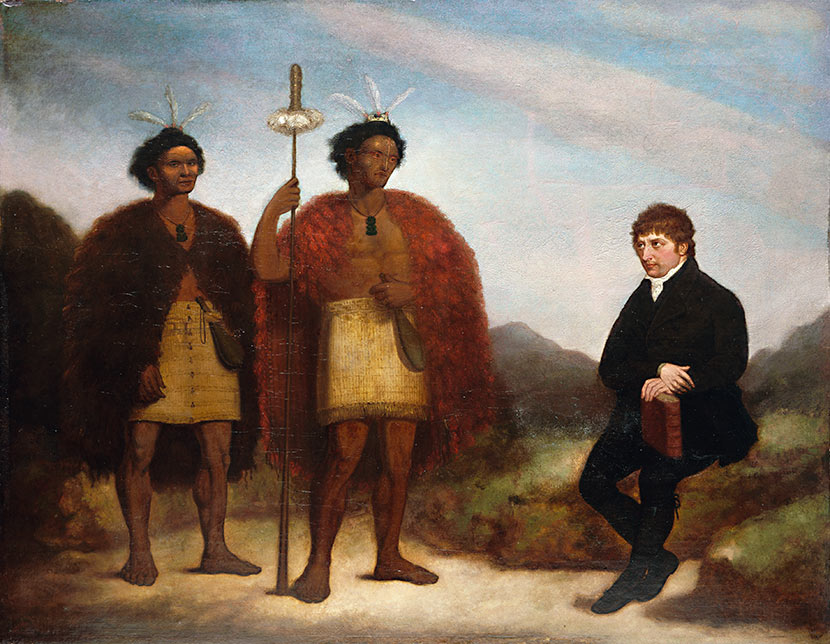 This missionary's portrait hung in honor until they found out who he really was